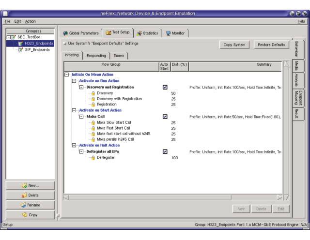 h323Flex Test Suite | SIP Interwork Testing | H 323