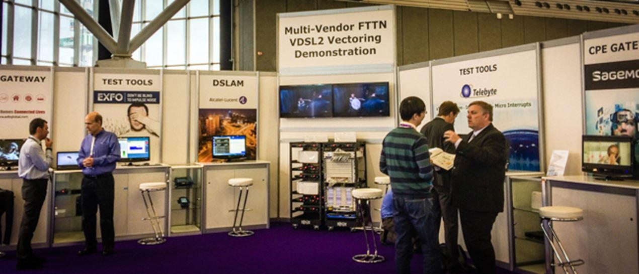 Broadband World Forum | FTTN VDSL2 vectoring demonstration