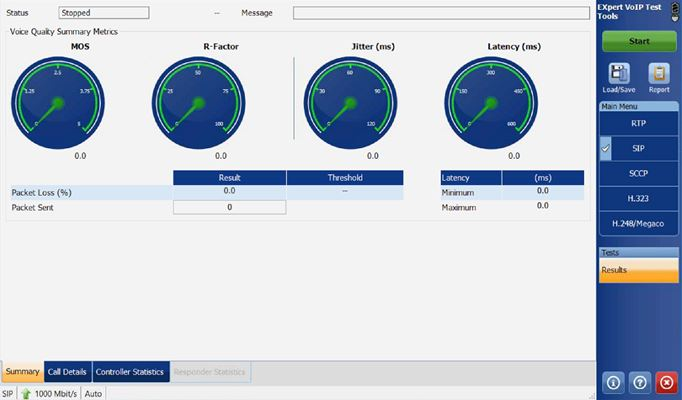 EXpert VoIP Test Tools | Pruebas VoIP | Red RTP