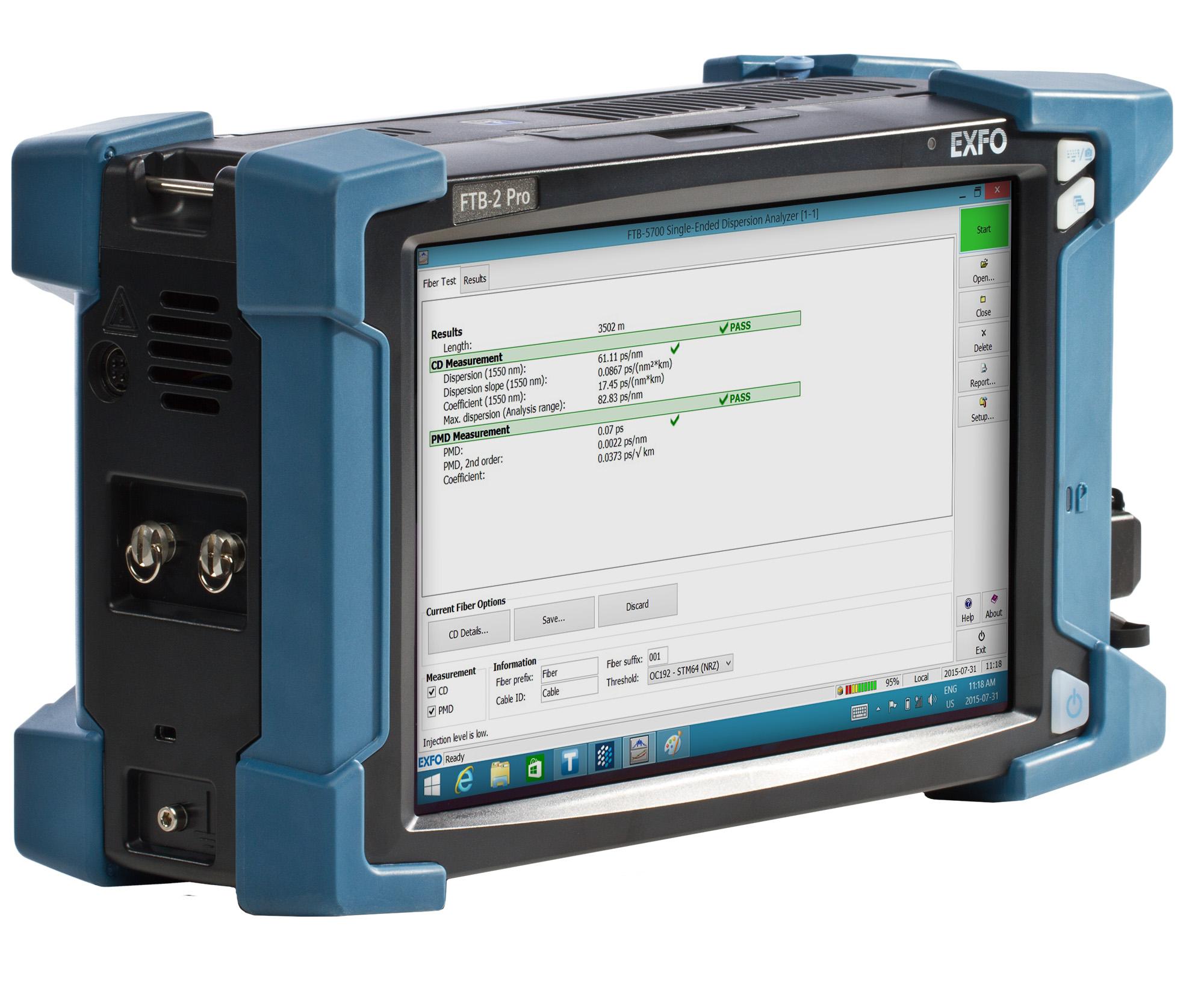 FTB-5700   Polarization Mode Dispersion   Raman Analysis   Optical
