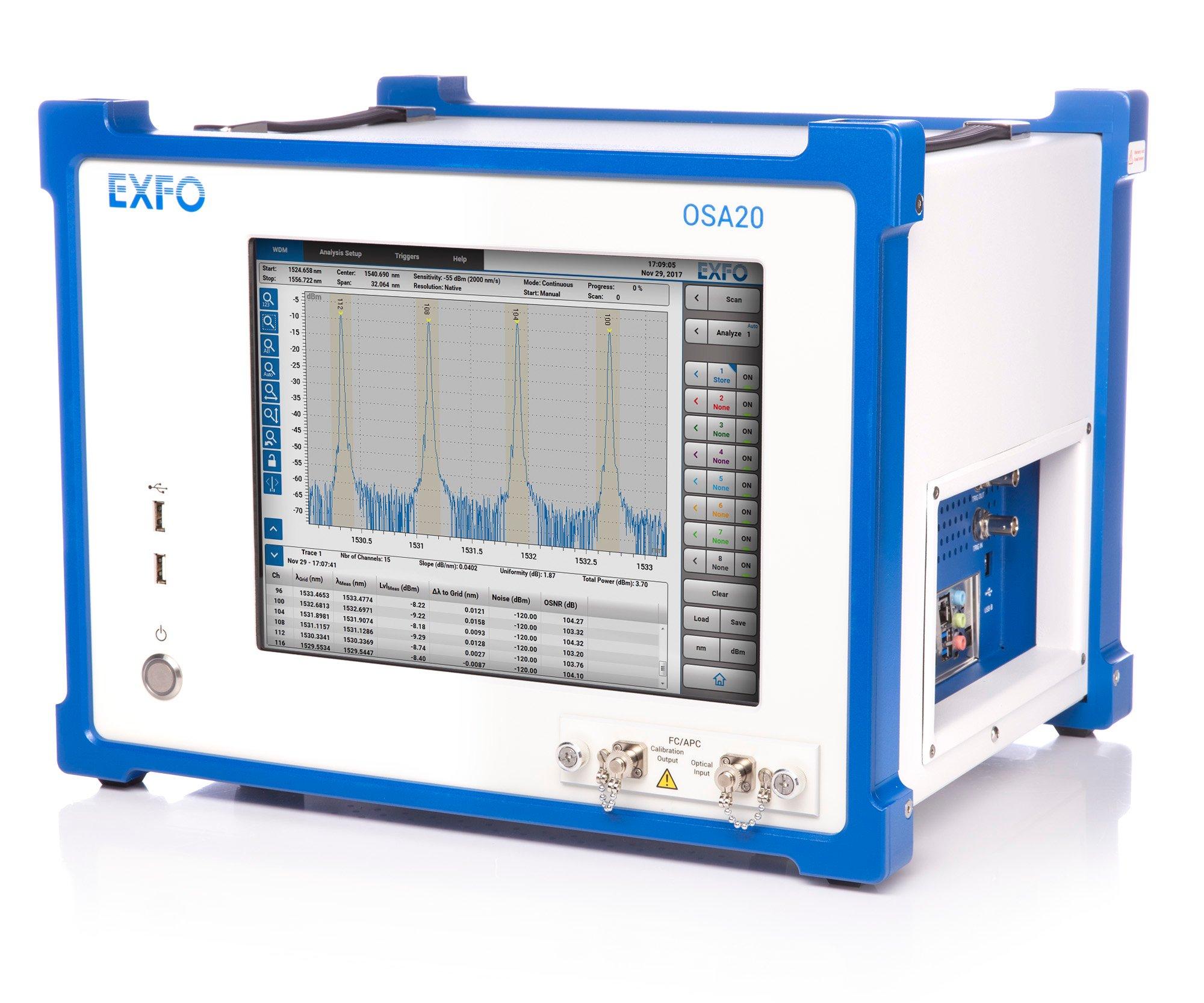 Optical Spectrum Analyzer Osa20 Rf Multi Measurement Signal